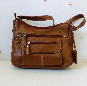 "Croft&Barrow Multi Pocket ""Genuine Leather"" Bag"